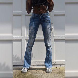 Boot cut jeans 👖